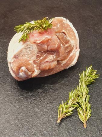 Jarret de porc demi sel